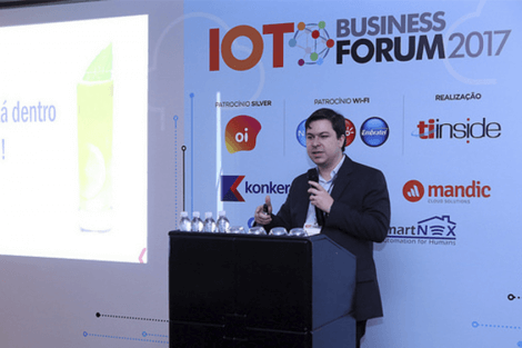 Konker no IoT Business Fórum 2017