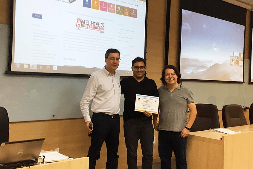 Konker recebe o Prêmio Ábaco de Computação, da Unicamp